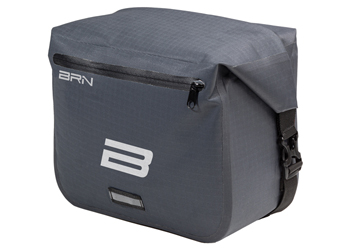 BRN Borsa Bike Travel Front-grigio