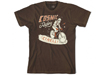 Cosmic Rider T-Shirt Brown